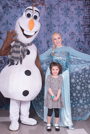 Princetown Preschool Breakfast with Elsa and Olaf April 2016