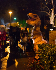 20161031.  Halloween on West Viewmont Way, Magnolia, Seattle WA.