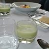soepje van groene asperges