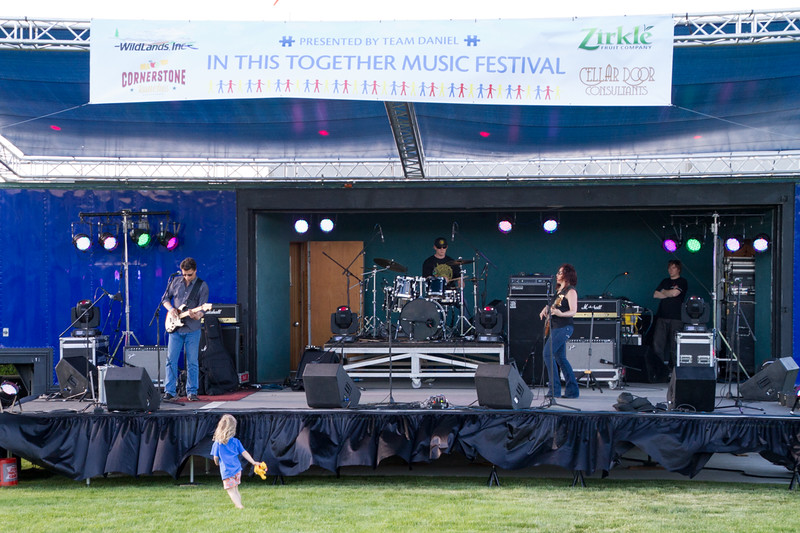 Polly O'Keary and the Rhythm Method<br /> In This Together Music Festival<br /> Benefiting Autism Awareness<br /> Prosser Wine & Food Park