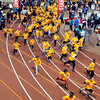 John P. Cleary | The Herald Bulletin<br /> St. Vincent-YMCA Kidz Marathon finale at Kardatzke Wellness Center.