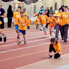 John P. Cleary | The Herald Bulletin<br /> St. Vincent-YMCA Kidz Marathon finale at Kardatzke Wellness Center.