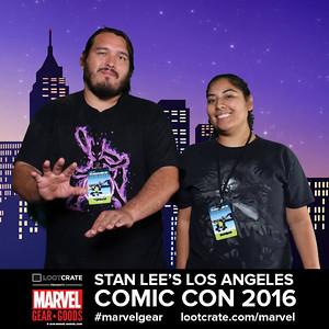 2016 LA Comic Con - Marvel