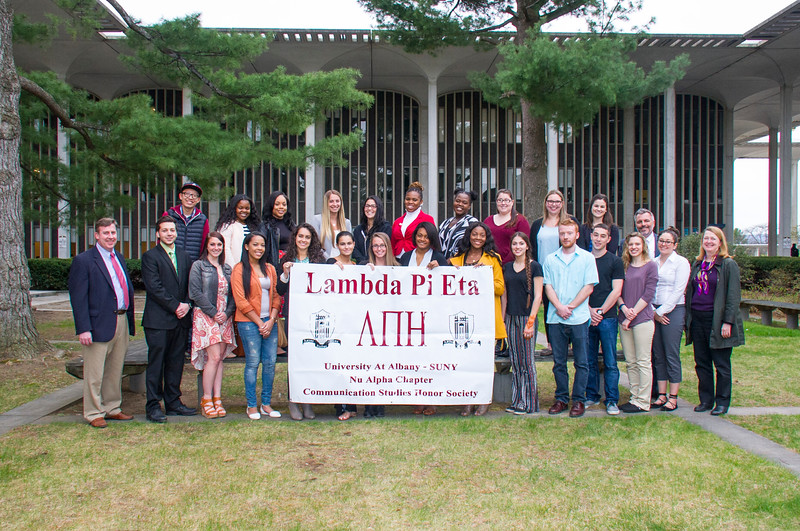 2016 Lambda Pi Eta Induction Ceremony