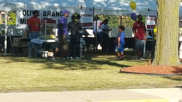 2016 Pontiac Schools Community Partnership Back 2 School Rally Pt.1 (August 6, 2016)