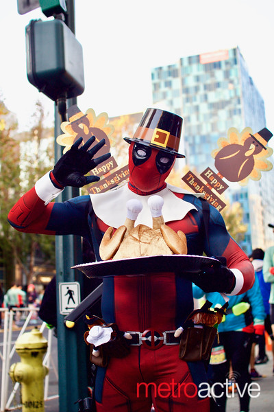 Happy Turkey Day from Deadpool