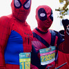Spidey and Deadpool chillin'