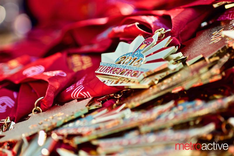2016 Turkey Trot medals
