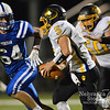 Aaron Beckman/DailyNews  <br /> <br /> Lutheran High's Luke Weidner (64) attempts to run down Shelby-Rising City's jake Hoatson (5) Friday night in Norfolk.