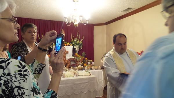 2016 St. Joseph Altar Orono April