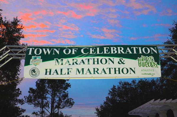 2016 The Town of Celebration Marathon and Half-Marathon