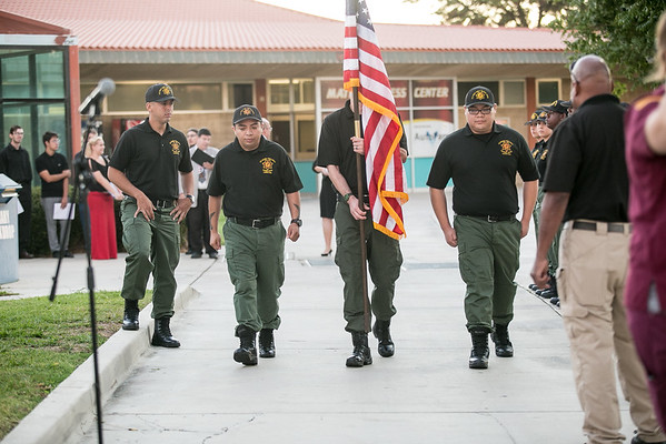 2016 Victor Valley College 9/11 Memorial Ceremony