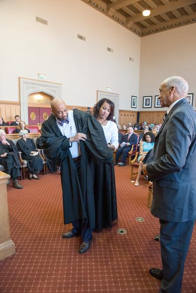 Investiture of  Judge Chuck Walker 2016