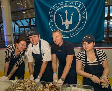 Neptune Oyster - Ann, John, Jeff and Ferrad