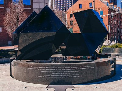 2016 Configuration of the Abstract Sculpture at Armenian Heritage Park