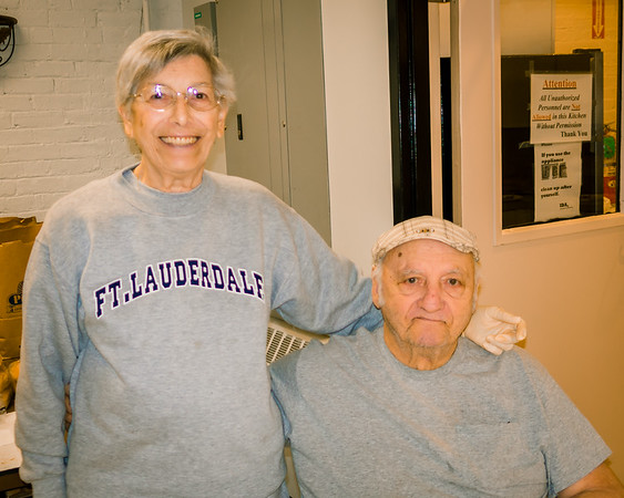 Volunteers Mary and Frank Romano are celebrating their 64th Anniversary