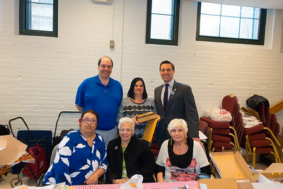 North End Friends of St. Francis House with Senator Elect Joe Boncore