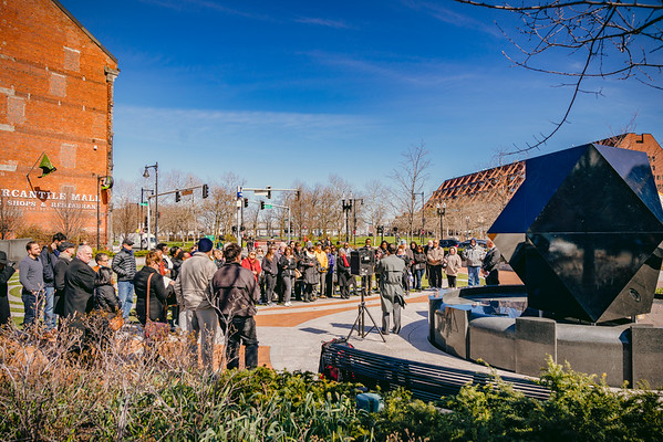 Walk Against Genocide ended at Armenian Heritage Park