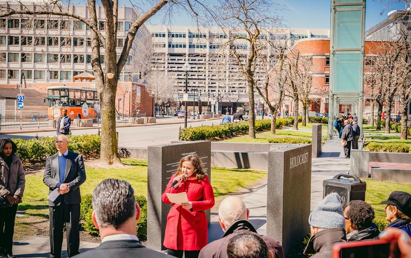 Edina Skaljiic speaks about the Bosnia genocide