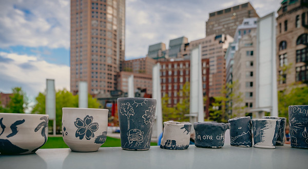 Pottery made on the Greenway