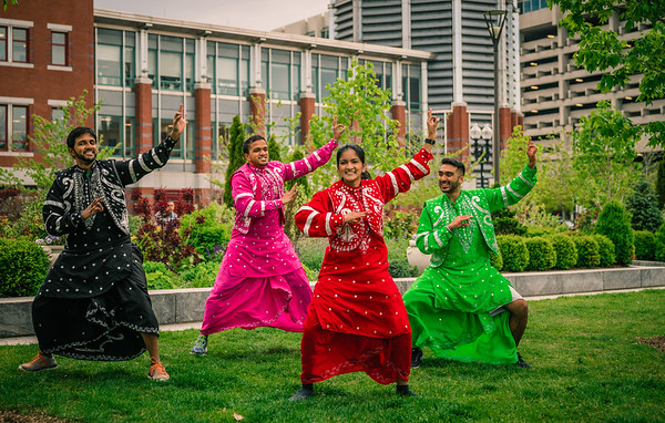 Boston University Bhangra Dance on the Greenway North End Parks