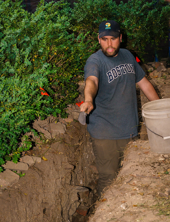 City of Boston Archaeologist Joseph Bagley