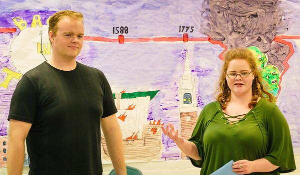 Directors John Gray and Marta Gray
