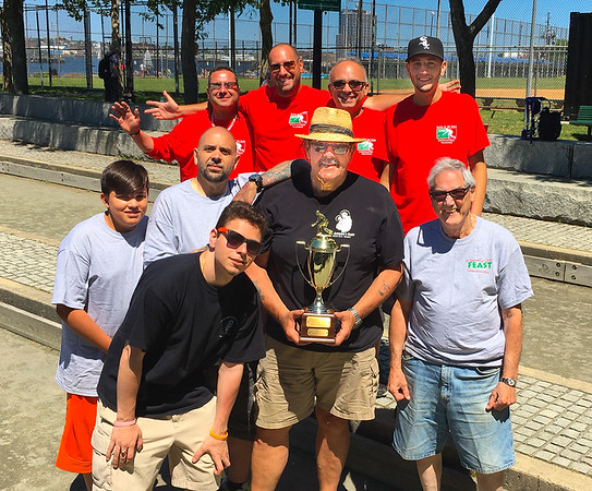 1st Place to St. Anthony's Club and 2nd Place to St. Agrippina Society (Photo by Jason Aluia)