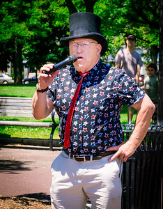Magician Peter O'Malley