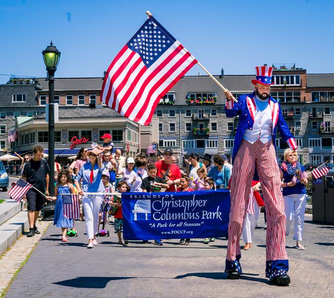 2016-06 | Independence Day Celebration at Christopher Columbus Park