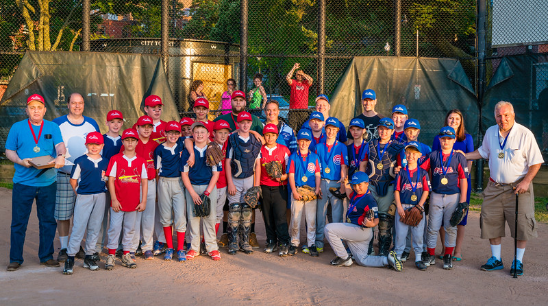 All-Star 2016 Teams with Honorees Phil Orlandella and Mike Giannasoli