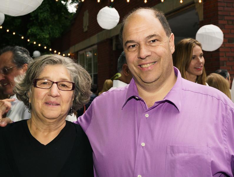 NEMPAC supporters, Patricia and John Romano