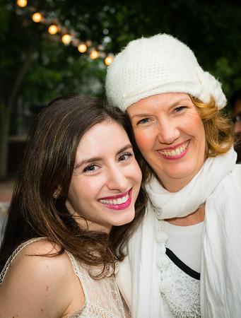 Instructor Rebecca Rapoport Cole and Advanced Student Meghan Denenberg