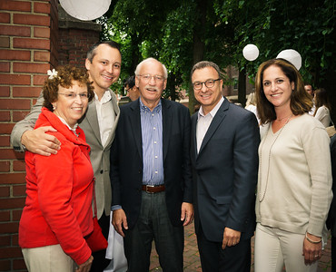 (L-R) NEMPAC Board Member Margaret Ris, State Rep. Aaron Michlewitz, NEMPAC Supporter Bud Ris, City Councilor Sal LaMattina and NEMPAC Board Member Jennifer McGivern