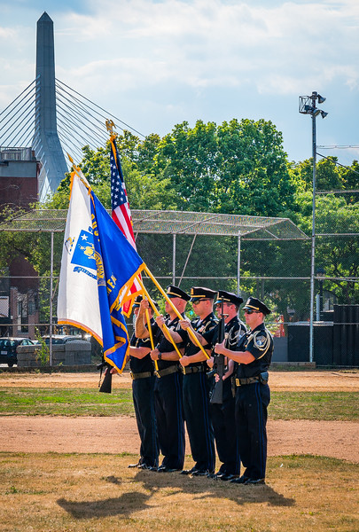 Boston Police Color Guard