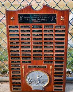 Plaque for North Adams - North End Baseball Exchange