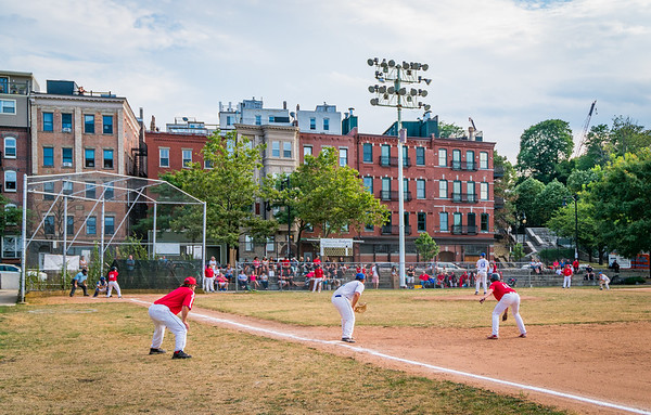 On the field at the 26th Annual LaFesta Baseball Tournament