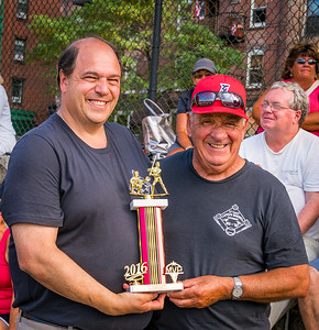 George Canales MVP Award with John Romano (left) and George Canales