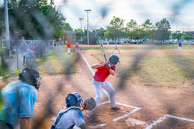From behind the cage at the LaFesta Baseball Tourney