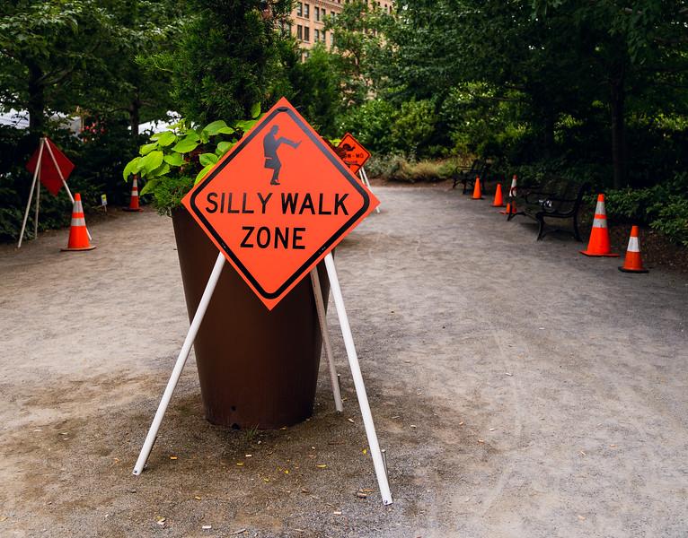 Silly Walk Zone
