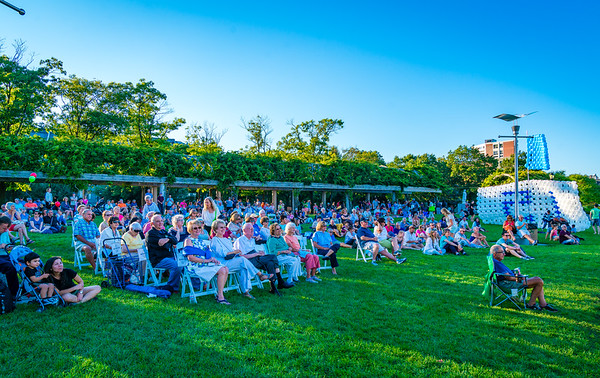 Hundreds gathered on the lawn for the 15th Birthday Celebration
