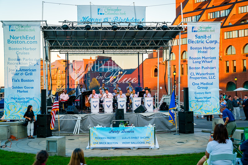 U.S. Air Force Rhythm in Blue Jazz Band performs at FOCCP 15th Anniversary celebration