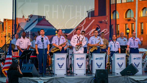 U.S. Air Force Rhythm in Blue Jazz Band