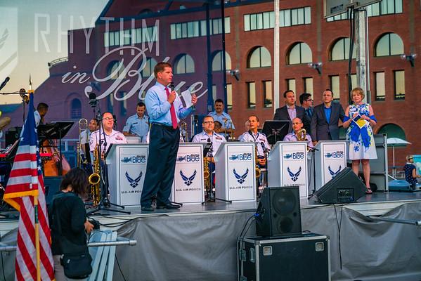 Boston Mayor Marty Walsh congratulates FOCCP on 15 years