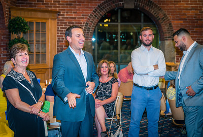 State Senator Joe Boncore speaks at the NEWRA Summer Party