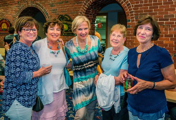 Ladies enjoy the NEWRA Summer Party