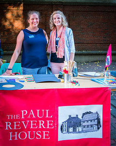Staff from the Paul Revere House
