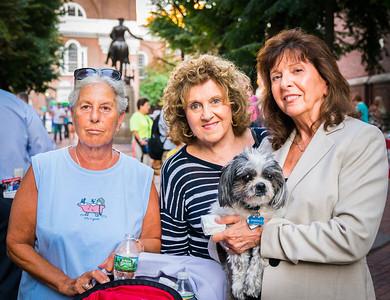 Marie Simboli, Barbara Sullivan, Pam Donnaruma and Freeway