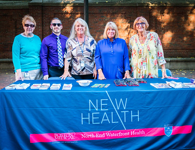 NEW Health at National Night Out in the North End