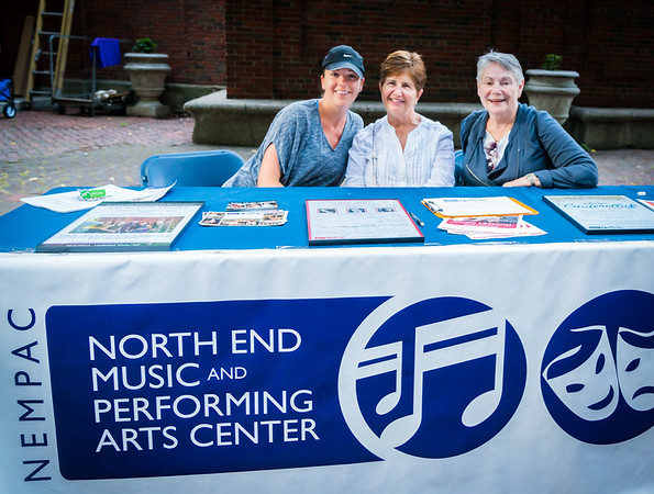 At the NEMPAC table with Sherri, Dianne and Phyllis